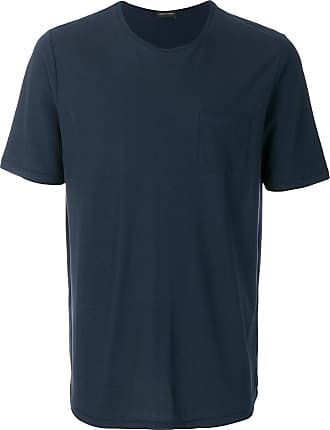 T-Shirts für Damen%2c TShirts Günstig im Sale%2c Blau%2c Baumwolle%2c 2017%2c 42 44 Roberto Collina kSfJ5t71yv