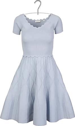 Langes, bedrucktes Kleid mit V-Ausschnitt und Rückendekolleté Sandro