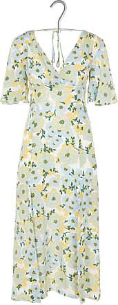 Kurzkleid aus Seide mit Henley-Ausschnitt und Blumen-Print Sandro yqIs3f