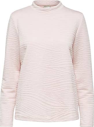 Locker Geschnittenes Sweatshirt Dames Roze Selected