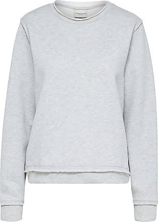 Stehkragen Sweatshirt Dames Roze Selected QnGdZ