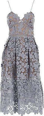 Kleid für Damen Günstig im Sale%2c Schieferblau%2c Polyester%2c 2017%2c 44 Self Portrait xTROCzHacH