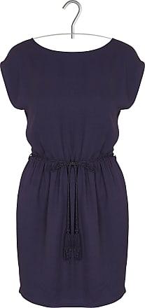 Kurzes Jacquard-Kleid mit Rundhalsaus- und Rückenausschnitt Sessun 8tIuzcV