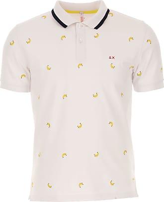 Polohemd für Damen%2c Polo-Hemd%2c Polo-Shirt Günstig im Sale%2c Weiss%2c Baumwolle%2c 2017%2c 40 42 46 Sun 68 1AOFBBJl
