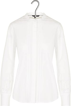 Bestickte Baumwoll-Bluse mit Vichy-Muster mit Rüschen Tara Jarmon cfsmn