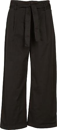 Gerade geschnittene Hose mit kontrastierender Borte Claudie Pierlot pWVDGXjke