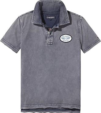 T-Shirt »AME SWEET POLO S/S«, blau, BLACK IRIS Tommy Hilfiger