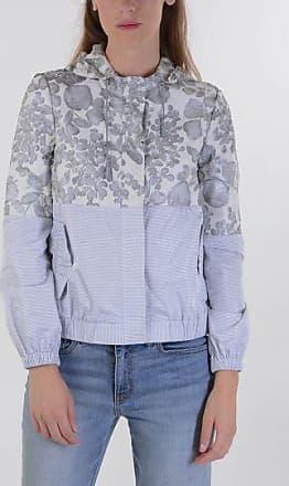 Striped Flowered Hoodie Jacket Frühling/Sommer Tory Burch okObc1