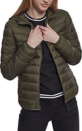 Ladies Basic Hooded Down Jacket Girl-Jacke oliv Urban Classics Billigste Online Professionelle Online Erscheinungsdaten Günstigen Preis Erhalten Authentische Online dklABgZGSf