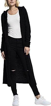 Ladies Oversized Cardigan Girl-Cardigan schwarz Urban Classics pNdP8