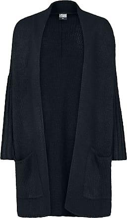 Ladies Oversized Cardigan Girl-Cardigan schwarz Urban Classics uNTI1dI