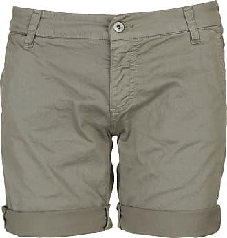 Chino-Shorts aus Piping Lurex-Jeans Vivance P61AHDR