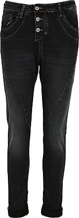 Verwaschene Boyfriend-Jeans mit niedrigem Bund Vivance pM0LfFmy