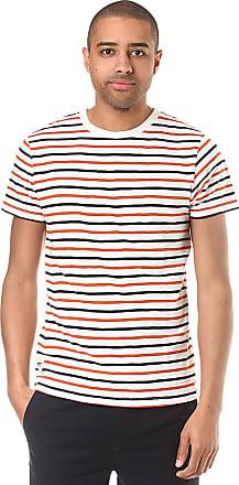 Brighton Stripe T-Shirt LS red melange Wemoto O6AkXa