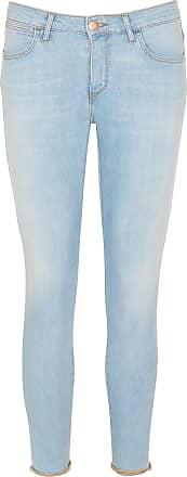 Gerade geschnittene Cropped Jeans mit Siebdruck Wrangler cbj4uq7DM