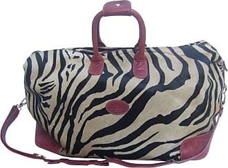 1stdibs Exotic Zebra Pony Hair Travel Bag By Tangarora Made In Italy