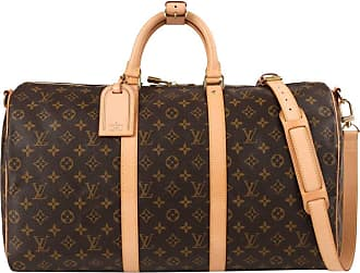 Louis Vuitton C.2006 Monogram Canvas keepall Bandouliere 50 Duffel Travel Bag