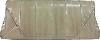 Vbh Vbh Manila First Edition Cream Eel Skin Clutch Handbag