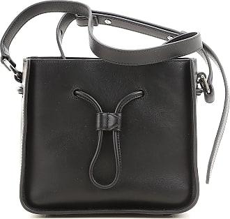 Shoulder Bag for Women On Sale, Black, Leather, 2017, one size 3.1 Phillip Lim