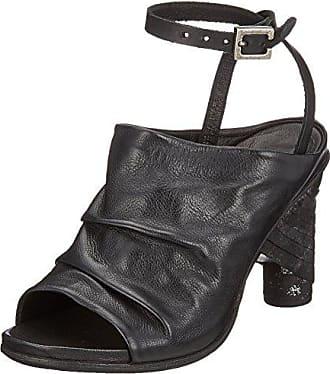 A.S.98 Ramos, Botines para Mujer, Multicolor (Black Grey Black 0001), 36 EU