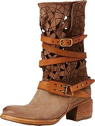 A.S.98 Cruz, Bottines Femme, Multicolore (Brown Brown Brown 0003), 38 EU