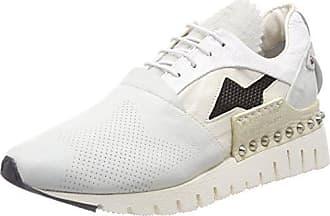 A.S.98 Denalux, Botines Para Mujer, Blanco (White 0001), 40 EU