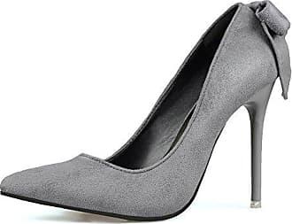Elegant Spitz Slip on Damen Schuhe Platform Stiletto Absatz Pumps Abendschuhe