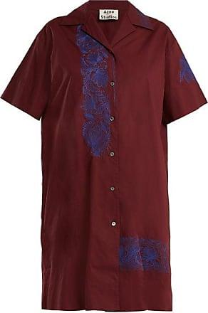 Robe En Molleton De Coton Imprimée Jopa - Gris ardoiseAcne Studios