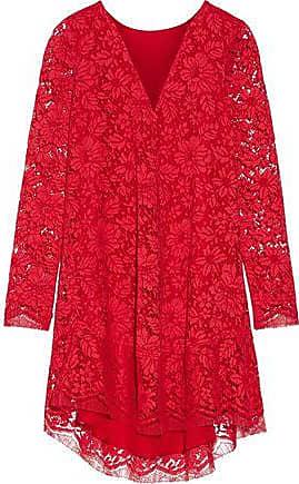 Adam Lippes Woman Cotton-blend Corded Lace Top Fuchsia Size 2 Adam Lippes