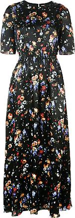 Adam Lippes Woman Wrap-effect Floral-print Devoré-chiffon Maxi Dress Black Size 6 Adam Lippes