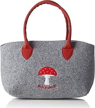 Glück Umhängetasche, Womens Bag, Grey (Schattengrau), 1.5x27x22 cm (B x H T) Adelheid
