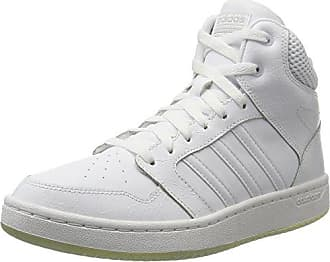 Adidas CF Daily Qt Mid W, Zapatillas de Deporte para Mujer, Negro (Negbas/Ftwbla/Plamat 000), 44 EU