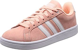 Adidas Courtset W, Zapatillas para Mujer, Blanco (Footwear White/White/Matte Silver 0), 36 2/3 EU adidas
