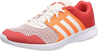 adidas Essential Fun II W, Chaussures de Gymnastique Femme, Orange (Arancione Real Coral S18/Ftwr White/Hi-Res Orange S18 Real Coral S18/Ftwr White/Hi-Res Orange S18), 40 EU