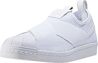 adidas Damen Superstar Bw3S Slipon W Fitnessschuhe, Verschiedene Farben (FTWR White/FTWR White/Off White), 41 1/3 EU