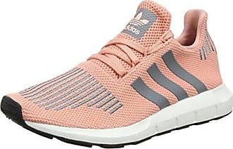 adidas Damen Swift Run W Laufschuhe  38 2/3 EUMehrfarbig (Trace Pink F17/Grey Three F17/Crystal White S16)