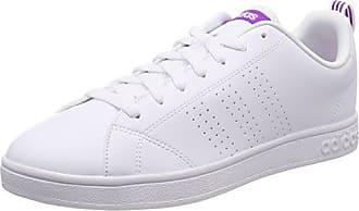 Adidas VS Advantage Cl, Zapatillas de Deporte para Mujer, Blanco (Ftwbla/Ftwbla/Pursho 000), 42 EU adidas