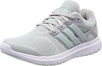 Adidas Qt Vulc 2.0 W, Zapatillas de Gimnasia para Mujer, Gris (Grey One F17/Haze Coral S17), 36 2/3 EU