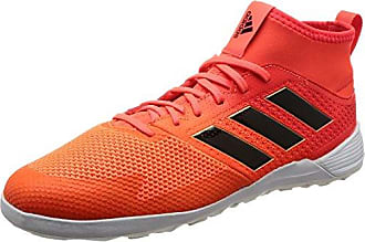 adidas Performance ACE15.3 HG Leather, Herren Fußballschuhe, Orange (Solar Orange/FTWR White/Core Black), 44 EU (9.5 Herren UK)