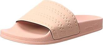 Adidas Adilette, Zapatos de Playa y Piscina para Hombre, Rosa (Haze Coral/Haze Coral/Haze Coral), 47 EU adidas