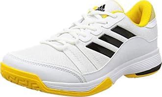 Adidas Barricade Court, Zapatillas de Tenis Para Hombre, Varios Colores (Escarl/Ftwbla/Azuene), 44 2/3 EU