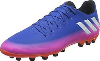 adidas Messi 16.3 AG, Chaussures de Football Entrainement Homme, Bleu (Blue/Footwear White/Solar Orange), 42 EU