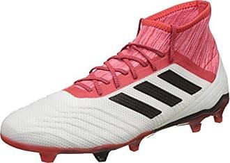 adidas Predator 18.4 FxG, Chaussures de Football Homme, Noir (Core Black/Utility Black F16/Real Coral S18), 40 EU