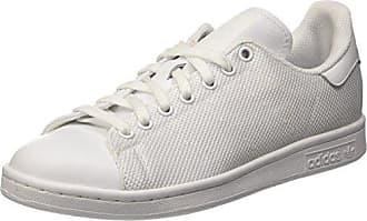 adidas Forum Mid Refined, Chaussures de Sport Homme - Blanc - Blanc (Ftwbla/Ftwbla/Plamet), 48 2/3 EU
