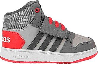 Adidas Hoops Mid 2.0 I, Zapatillas de Estar por Casa Bebé Unisex, Gris (Gridos/Gricin/Roalre 000), 21 EU