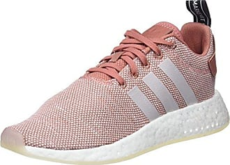 big sale 8be59 8a02b adidas NMDR2, Baskets Femme, Rose (Ash PinkRose Crystal WhiteFootwear