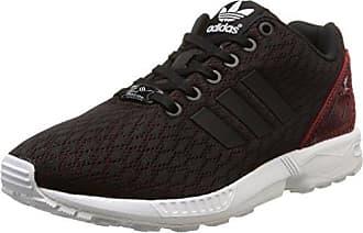 adidas Damen ZX Flux ADV Smooth W Sneakers  38 2/3 EUSchwarz (Core Black/Core Black/Core White)