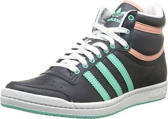 Adidas Originals Topten Hi K - Zapatillas, color White Ftw/True Blue, talla 38