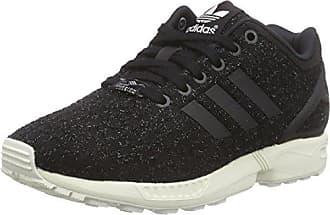 adidas Damen ZX Flux ADV Smooth W Sneakers  36 EUSchwarz (Core Black/Core Black/Core White)
