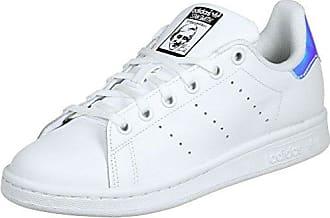adidas Kiel, Chaussures de Fitness Mixte Enfant, Blanc (Ftwbla/Verde/Ftwbla 000), 37 1/3 EU